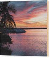 Morado Sunset Wood Print
