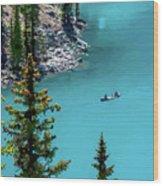 Moraine Lake - 2 Wood Print