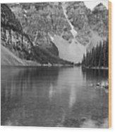 Moraine Lake II Wood Print