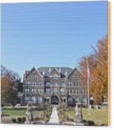 Moravian College Wood Print