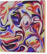 More Cresm #2 Wood Print