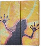 More Geckos Wood Print