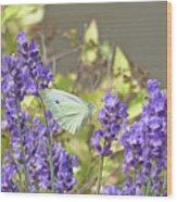 More Lavender Love Wood Print