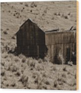 More Smith Mine Remnants Wood Print