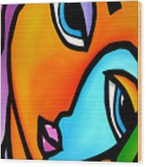 More Than Enough - Abstract Pop Art By Fidostudio Wood Print