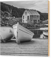 Moretons Harbour II Wood Print