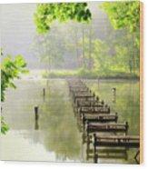 Morgans Cove Wood Print