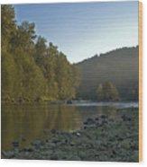 Morning Air Wood Print