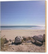Morning At Qgunquit Beach 2. Wood Print