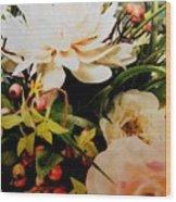Morning Bloom Wood Print