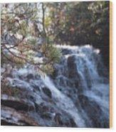 Morning Cascade Wood Print