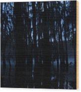 Morning Cypress Mist Wood Print