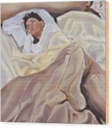 Morning Wood Print by Denise H Cooperman