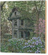 Morning Glory Wood Print by Doug Kreuger
