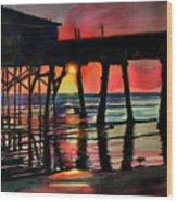 Morning Glow 4-27-15 Wood Print
