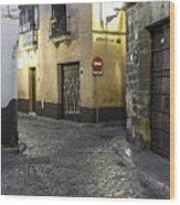 Morning In Seville Wood Print