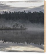 Morning Light At Saari-soljonen 2 Wood Print