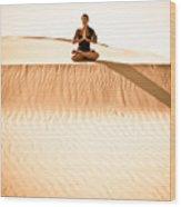 Morning Meditation Wood Print