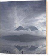 Morning Mist Glencoe Wood Print