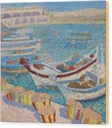 Morning  On Cyprus .2003 Wood Print