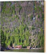Morning On Grand Lake Wood Print