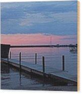 Morning On Lake Huron Wood Print