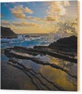 Morning On Oahu Hawaii Wood Print