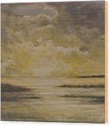 Morning On The Chesapeake Wood Print