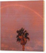 Morning Rainbow Wood Print
