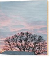 Morning Sky 2 Wood Print