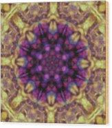 10301 Morning Sky Kaleidoscope 01b Wood Print