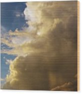 Morning Sky After The Storm Wood Print