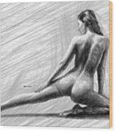 Morning Stretch Wood Print