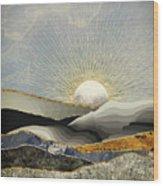Morning Sun Wood Print