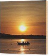 Morning Sunrise 09-02-18 # 11 Wood Print