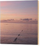 Morning Sunrise 09-02-18 # 3 Wood Print