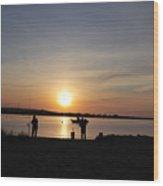 Morning Sunrise 09-02-18 # 9 Wood Print