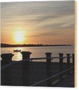 Morning Sunrise 09-02-18 #10 Wood Print