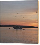 Morning Sunrise 09-02-18 #6 Wood Print