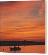 Morning Sunrise 09-02-18 Wood Print