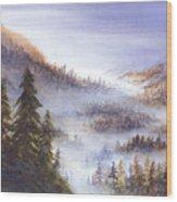 Morning Vista Wood Print
