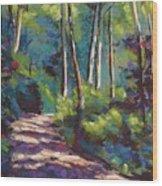 Morning Walk 3 Wood Print