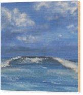 Morning Waves, 9x12, Oil, '08 Wood Print