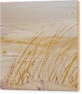 Morning Whiteout               82 Wood Print
