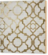 Moroccan Gold I Wood Print