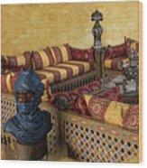 Moroccan Room Wood Print