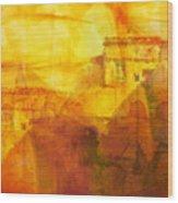 Morocco Impression Wood Print