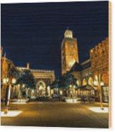 Morocco Pavilion, Epcot, Walt Disney World, Lake Buena Vista, Florida Wood Print