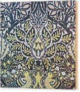 Morris: Dove & Rose, 1879 Wood Print