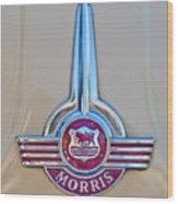 Morris Hood Emblem Wood Print